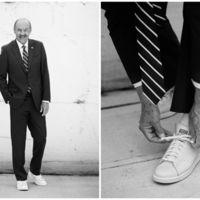 Zapatillas blancas por excelencia para un look triunfante