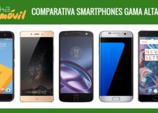 Comparativa móviles gama alta segunda mitad 2016 a los que se enfrentan el ZTE Nubia Z11 y ZTE Axon 7