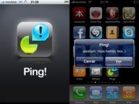 Ping! mensajería push en el iPhone