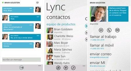 Microsoft Lync ahora también disponible para Windows Phone 7