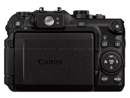 Canon Powershot G11 back