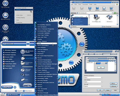 Cambia los themes en Windows XP Service Pack 3