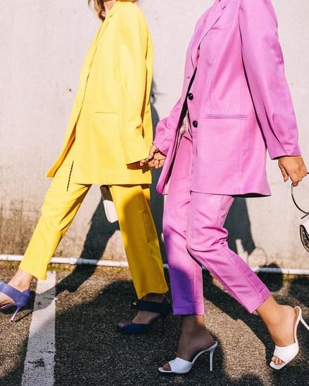 Los trajes de color pastel son el look de invitada esencial si los vestidos no son lo tuyo (y estos cinco modelos de Asos te conquistarán)