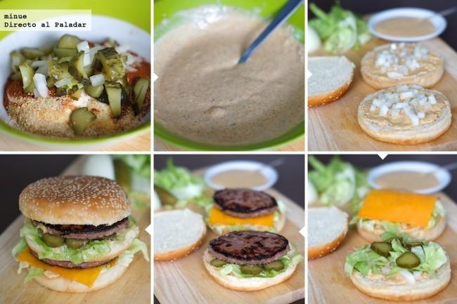 El proceso de montaje del Big Mac de Directo al Paladar