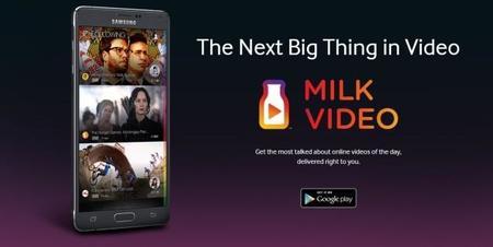 Encuentra los vídeos más virales con la nueva app de Samsung, Milk Video