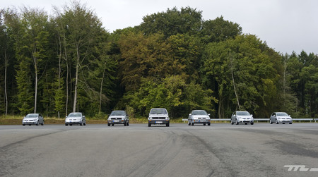 Las siete generaciones del Volkswagen Golf, cara a cara