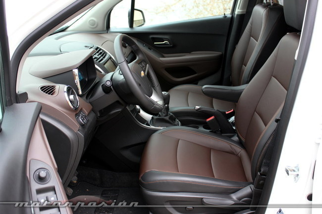 Chevrolet Trax 2013, vista interior
