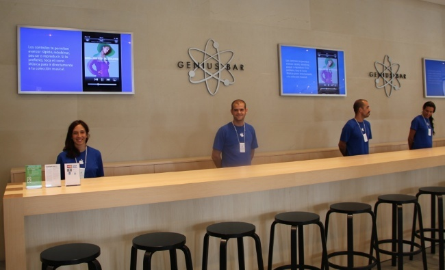 genius bar apple store barcelona