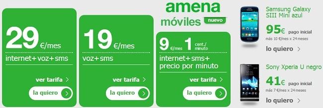 Nueva tienda smartphones de Amena