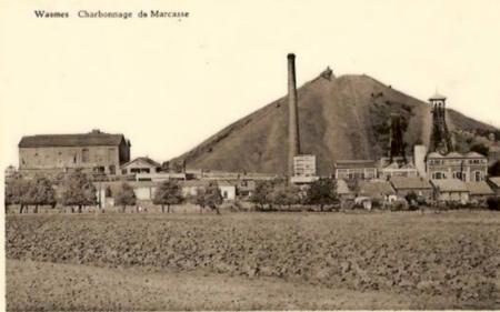 Fotografía anónima de la Mina de Marcasse