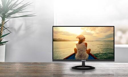 Si buscas monitor económico para teletrabajar, Amazon tiene el ASUS VZ239HE de nuevo a precio mínimo por 99,99 euros