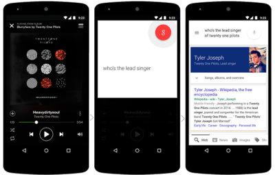 Now on Tap: Google Now ahora más inteligente