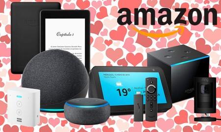 Regalar dispositivos Echo, Fire TV, Kindle o Ring por San Valentín sale más barato con estas ofertas de Amazon