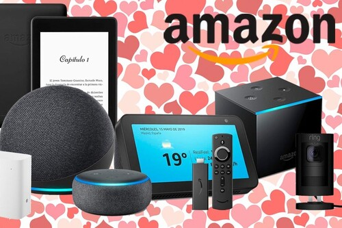 Regalar dispositivos Echo, Fire TV, Kindle o Ring por San Valentín sale más barato con estas ofertas de Amazon