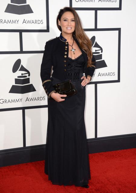 Tia Carrere Grammy 2014