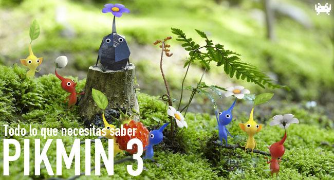 Pikmin 3 - Todo lo que necesitas saber