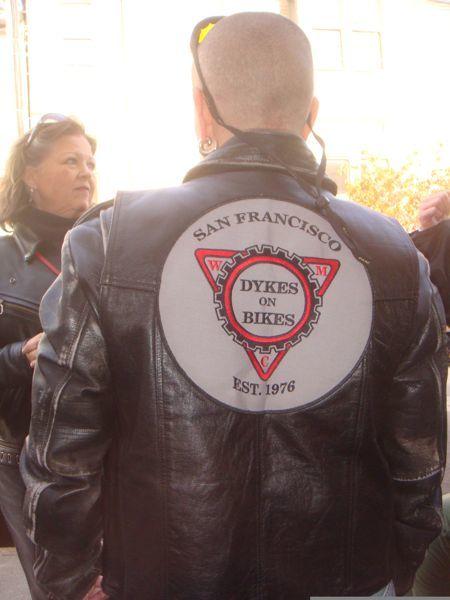 América en moto. Con las lesbianas de San Francisco. Dykes on Bikes