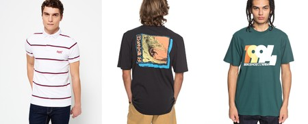 Esto es eBay: 16 camisetas y polos rebajados de marcas como DC Shoes, Quiksilver, Cerruty o Superdry   por menos de 20 euros