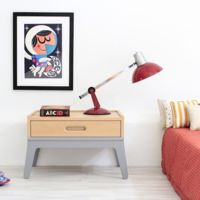 Menudos Cuadros pone un toque creativo en las paredes del dormitorio infantil