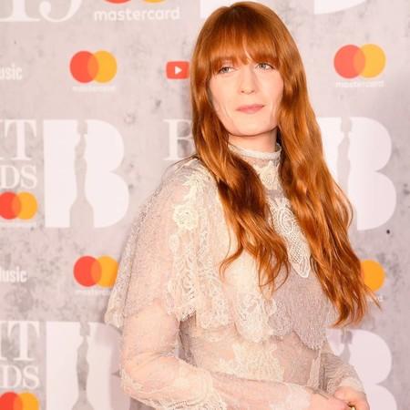 BRIT Awards 2019: Florence Welch elige un look vintage para pisar la alfombra roja