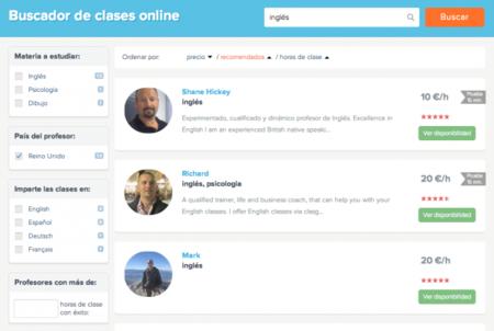 Classgap: donde el usuario es el que elige horarios, profesor y asignaturas