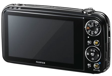 Fujifilm FinePix Real 3D W3 back