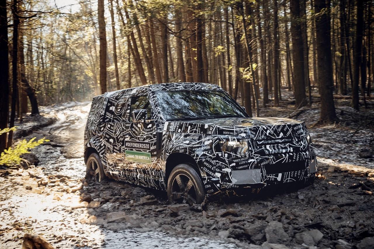 Foto de Land Rover Defender 2020 primeras fotos oficiales (7/24)