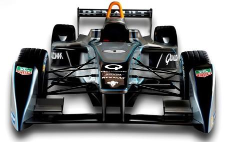 El nuevo monoplaza de Fórmula E, Spark-Renault SRT-01_E, se ha presentado en Frankfurt