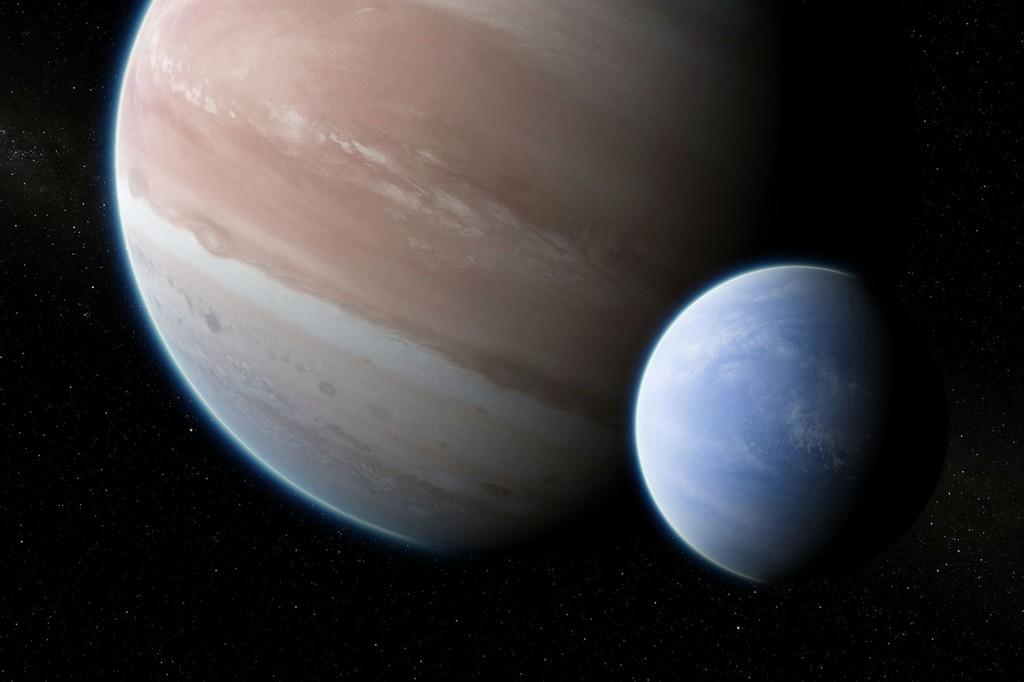 El Hubble encuentra indicios de la que puede ser la primera luna fuera del Sistema Solar