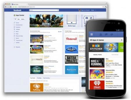 Facebook App Center ya disponible para Android