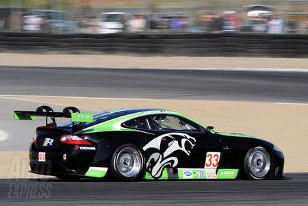 Jaguar XKR Le Mans trasera