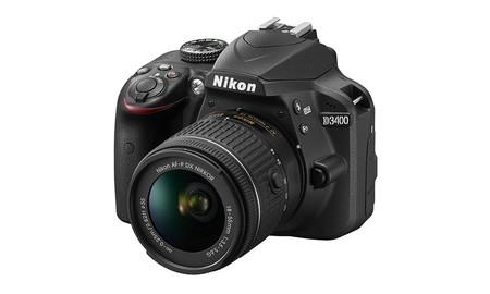 Nikon D3400 con objetivo 18-55 VR, una reflex básica por sólo 389,90 euros en Fnac