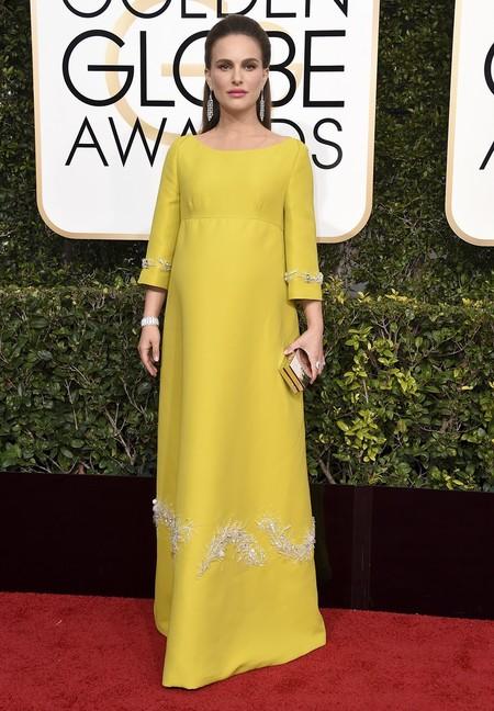 Natalie Portman Prada Globos De Oro