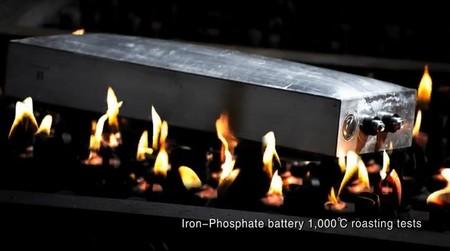 Batería de litio a altas temperaturas