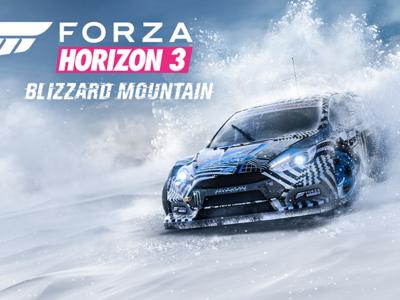 Forza Horizon 3 nos ofrecerá nuevos desafíos y helados el 13 de diciembre con la expansión Blizzard Mountain