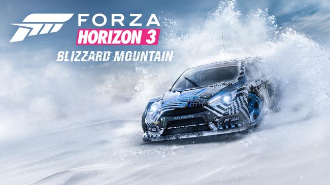 Forza Horizon 3 Blizzard Mountain Dlc