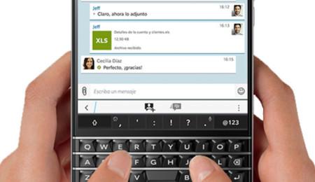 BlackBerry Messenger muestra que puede ser alternativa a WhatsApp con la última gran actualización