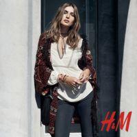 H&M y Andreea Diaconu, la pareja más bohemia de la temporada