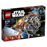 Por 49,99 euros tenemos el set de Lego Star Wars Quadjumper de Jakku en Amazon