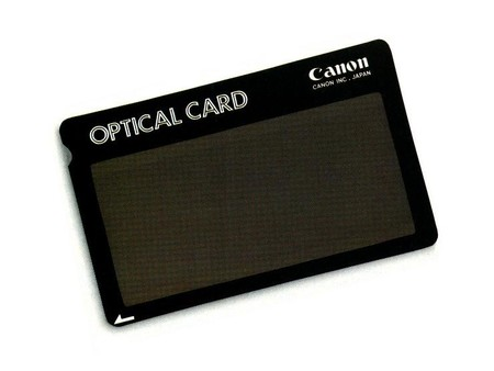 455823 Canon Optical Card
