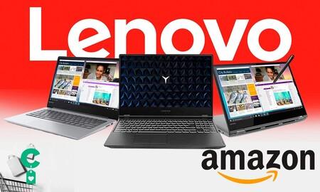 9 portátiles Lenovo que puedes comprar más baratos en Amazon esta semana para adelantarte al Black Friday