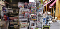 ¿De vacaciones a Francia? Encuentra tus periódicos