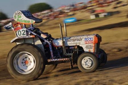 Competiciones Curiosas: carreras de tractores
