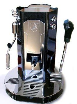 Cafetera Lamborghini: bonita, exclusiva pero un poco cara