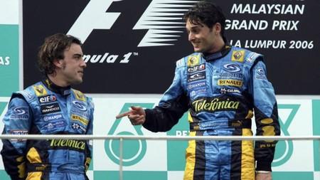 Fisichella Alonso Malasia F1 2006