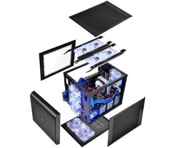 No es un truco de magia, Thermaltake Core V21 permite tener un PC en varios chasis