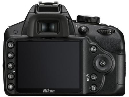 Nikon D3200 y su pantalla