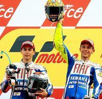 Jorge Lorenzo, el peor compañero de Valentino Rossi