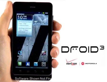 El Motorola Droid/Milestone 3 se deja ver en vídeos