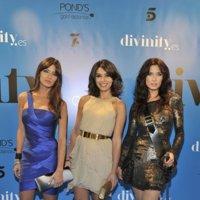 Los looks de Sara Carbonero, Pilar Rubio y Marta Fernández en la presentación de Divinity